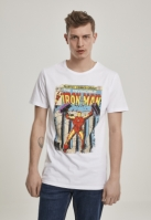 Tricou Iron Man Cover alb Merchcode