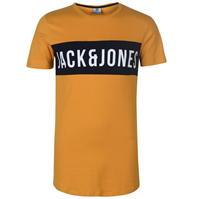 Tricou Jack and Jones cu guler rotund Charlie