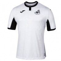 Tricou Joma 1st Swansea alb cu maneca scurta R