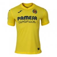 Tricou Joma 1st Villarreal galben cu maneca scurta