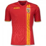 Tricou Joma 2nd Ff Romania rosu cu maneca scurta