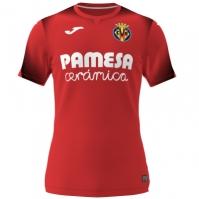 Tricou Joma 2nd Portar Villarreal rosu cu maneca scurta