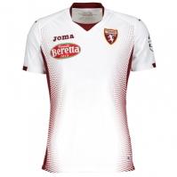 Tricou Joma 2nd Torino alb cu maneca scurta Sponsor