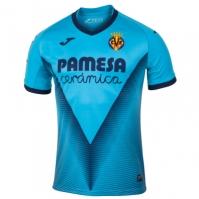 Joma 3 Camiseta Villarreal Turquesa Fluor M/c