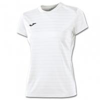 Tricouri sport Joma T- alb cu maneca scurta