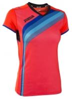 Tricouri sport Joma T- alergare Fluor Coral cu maneca scurta