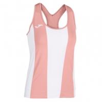 Tricou Joma Aurora alb-roz fara maneci pentru Femei