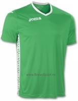 Tricou Joma Baschet Pivot verde cu maneca scurta