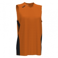 Mergi la Tricou Joma Cancha III portocaliu-negru fara maneci