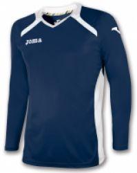 Tricou Joma Champion II bleumarin-alb cu maneca lunga