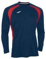 Tricou Joma Champion III bleumarin-rosu cu maneca lunga