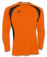Tricou Joma Champion III Orange-negru cu maneca lunga