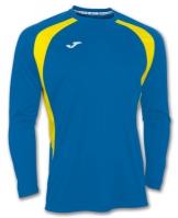 Mergi la Tricou Joma Champion III Royal-galben cu maneca lunga