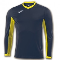 Tricou Joma Champion Iv bleumarin-galben cu maneca lunga