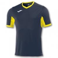 Tricou Joma Champion Iv bleumarin-galben cu maneca scurta
