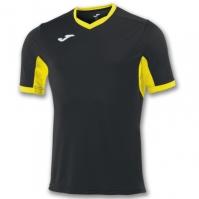 Tricou Joma Champion Iv negru-galben cu maneca scurta