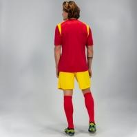 Tricou Joma Champion V rosu-yellowy cu maneca scurta galben