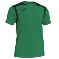 Tricou Joma Champion V verde-negru cu maneca scurta