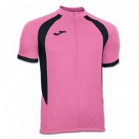 Tricou Joma Duathlon roz-negru cu maneca scurta