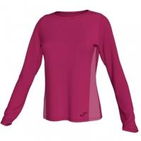 Tricou Joma Electra Fuchsia cu maneca lunga pentru Femei