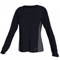 Tricou Joma Electra negru cu maneca lunga pentru Femei