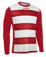 Tricou fotbal Europa III Joma rosu-alb cu maneca lunga