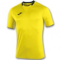 Tricouri Joma T- Galaxy galben cu maneca scurta