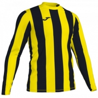 Tricou Joma Inter galben-negru cu maneca lunga