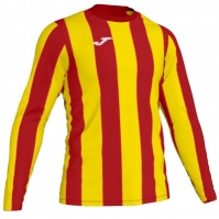 Tricou Joma Inter rosu-galben cu maneca lunga