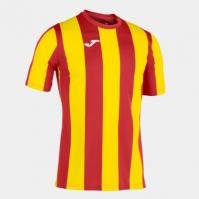 Tricou Joma Inter rosu-galben cu maneca scurta