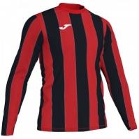 Tricou Joma Inter rosu-negru cu maneca lunga