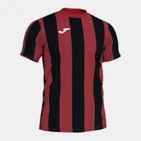 Tricou Joma Inter rosu-negru cu maneca scurta