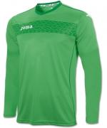 Tricou Joma Liga II verde cu maneca lunga