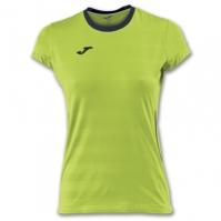 Tricou Joma Volley Lime cu maneca scurta pentru Femei