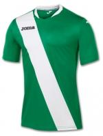 Tricou Joma Monarcas verde-alb cu maneca scurta
