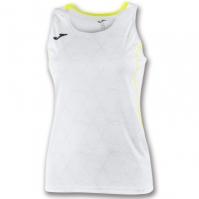 Tricou Joma Record II fara maneci alb pentru Femei