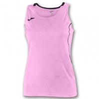 Tricou Joma Record II fara maneci roz Fluor pentru Femei