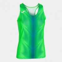 Tricou Joma Olimpia Fluor verde-royal fara maneci pentru Femei