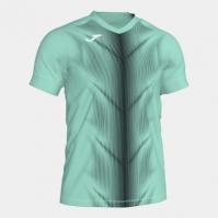 Tricou Joma Olimpia verde-negru cu maneca scurta
