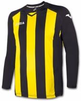 Tricou Joma Pisa 12 negru-galben cu maneca lunga