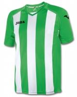 Tricouri Joma T- Pisa 12 verde-alb cu maneca scurta