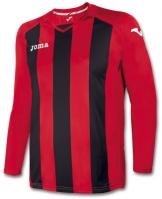Tricou Joma Pisa 12 rosu-negru cu maneca lunga