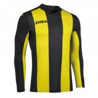 Tricou Joma Pisa V negru-galben cu maneca lunga