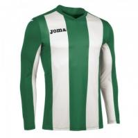 Tricou Joma Vertical cu dungi verde cu maneca lunga