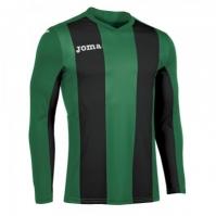 Tricou Joma Pisa V verde-negru cu maneca lunga