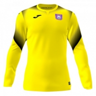 Tricou Joma Portar Anderlecht galben cu maneca lunga