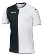 Tricou Joma Premier alb-negru cu maneca scurta