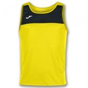 Tricou Joma Race galben-negru fara maneci