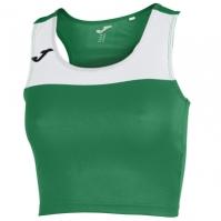 Tricou Joma Race verde-alb fara maneci pentru Femei