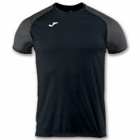Tricou Joma Record III jersey negru S / 100736.100 barbati